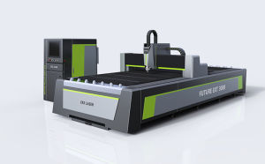 Fiber Cutting Machine with CNC Laser Machine pictures & photos