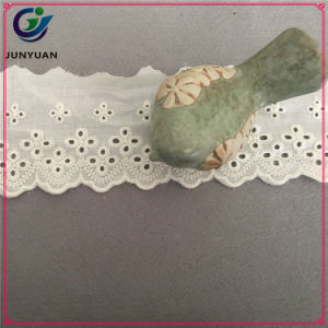 New Embroidery Cotton Lace Cotton Fabric Lace pictures & photos