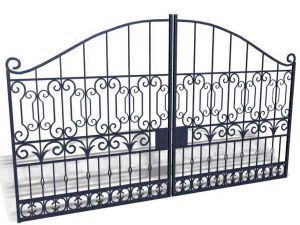 Low Price, Gates and Steel Fence Design, Wrought Iron Gate pictures & photos