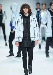 Fashion Reflective Jacket / Supply Polyester Fabric pictures & photos