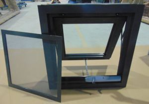Soundproof Aluminum Fly Screen Window Customized Design pictures & photos