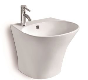 G812 Wall Hung Ceramic Basin pictures & photos
