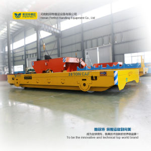 Motorized Rail Cart Heavy Duty Transfer Carriage for Transportation pictures & photos