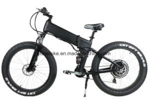 Mountain Full Suspension Fat Electric Bicycle with 4.0 Tire pictures & photos