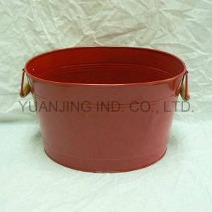 Hot Sale Metal Household Ice Bucket in Powder Coating pictures & photos