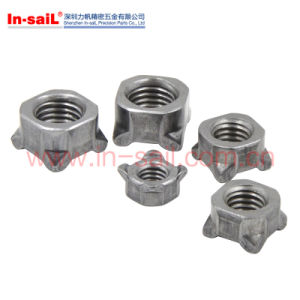 DIN928 Quadrangle Welding Nuts Carbon Steel Furniture Nuts pictures & photos