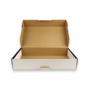 Custom Currugated Box Custom Pizza Box Paper Packaging pictures & photos