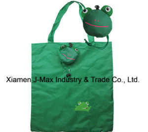 Foldable Shopping Promotional Bag, Animal Frog Style, Reusable, Lightweight, Gifts, Accessories & Decoration, Grocery Bags pictures & photos