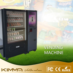 Break Room Vending Machine with 9 Columns Operated by Mdb pictures & photos