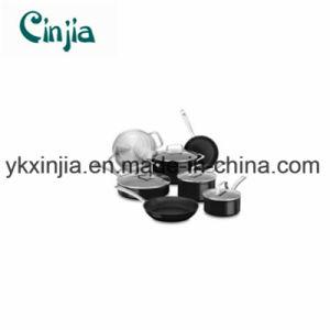 Carbon Steel Non-Stick 11PCS Cookware Set with Lid-Xjt25 pictures & photos