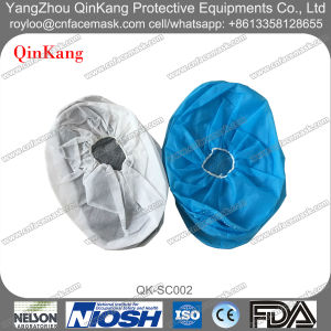Disposable Cleanroom/Laboratory Non Slip Shoe Cover pictures & photos