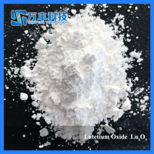 Lutetium Oxide with 99.9% Purity Applied in Electric Coloration Display pictures & photos