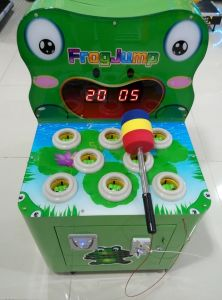 Kids Indoor Game Happy Hit Frog Hammer Game for Fun pictures & photos