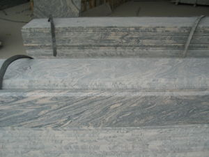 G682 Rusty Yellow / Sunset Gold Granite Stair Steps with Anti-Slippery pictures & photos