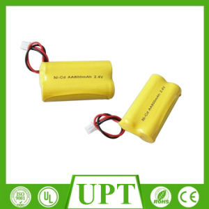 Ni-CD 800mAh AA 2.4V Rechargeable Battery Pack pictures & photos