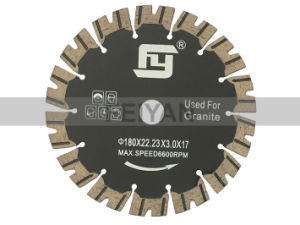 Safety Diamond Blades with V Type Teeth pictures & photos
