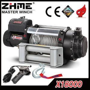 18000lbs Large Capacity Waterproof Electric Winch with Wire Rope pictures & photos