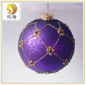 High Quality Christmas Decoration Glass Ball pictures & photos