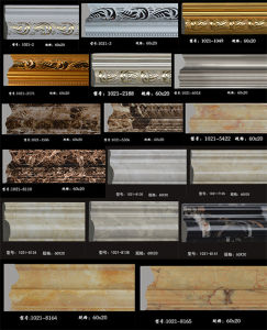 Multi Kinds of PU Cornice/PU Crown Molding/ Interior Mouldings pictures & photos