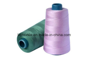 Low Shrinkage 100% Polyester Sewing Thread 20s/2 40s/2 pictures & photos
