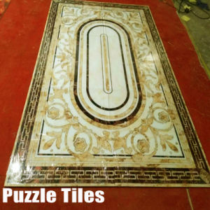 Waterjet Pattern crystal Marble Tiles for Flooring (WXP32043) pictures & photos