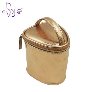 High Quality Cosmetic Bag with PU Handle Sedex Audit pictures & photos