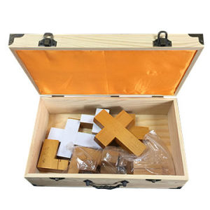 Wooden Toy/Tool/Instrument/Gift Storage Hinged Lid Styled Box pictures & photos