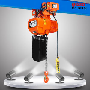 1.5t Low Headroom Type Electric Chain Hoist (220V/380V/460V) pictures & photos