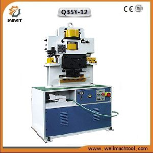 Model Q35y-12 Hydraulic Combined Punching and Shearing Machine pictures & photos