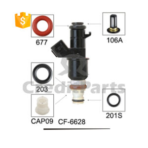 CF-6628 Basket Micro Filter Colored Rubber Fuel Injector Repair Service Kits pictures & photos