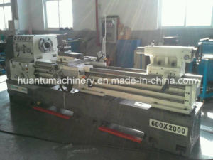 CNC Horizontal Lathe Ck6153 for Turning Metal Parts pictures & photos