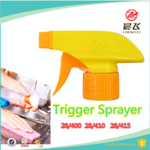 High Quality Cleaning Plastic Trigger Sprayer with Standard Hand CF-T-2 28/400 28/410 28/415 pictures & photos