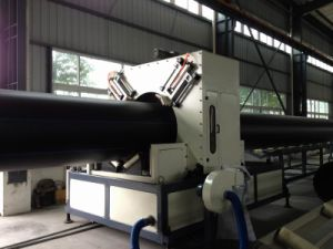 HDPE Solid Wall Pipe Extrusion Line pictures & photos