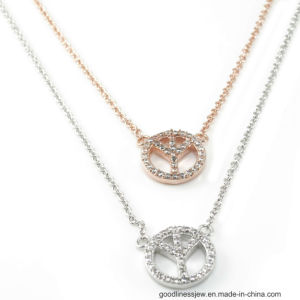 3A White CZ 925 Silver Pendant with Charms (P4967) pictures & photos