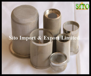 316L Stainless Steelwoven Wire Mesh Filter Cylinder