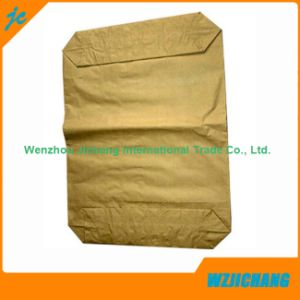Brown Kraft Paper Cement Valve Bag for Chemical pictures & photos