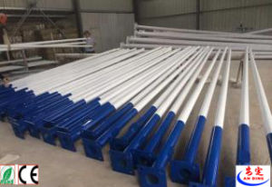 Conical Hot Galvanized Galvanized Street Lighting Pole 12m pictures & photos