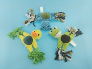 Cute Cutton Rope Frog Toy for Pets Playing pictures & photos