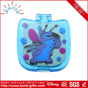 Plastic Pocket Makeup Mirror with Customized Printing pictures & photos
