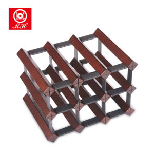 Factory Outline Wholesale Bordex Design Wine Rack with SKD Packing pictures & photos