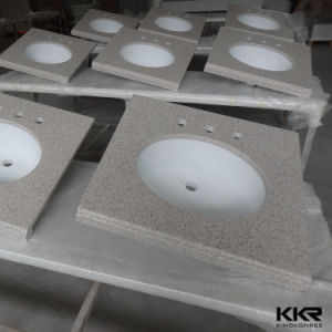 Stone Discount Solid Surface Countertops Custom Vanity Tops pictures & photos