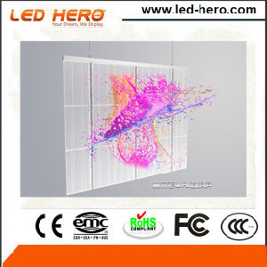 Didital Commercial P5-6.67mm Transparent LED Wall Indoor pictures & photos