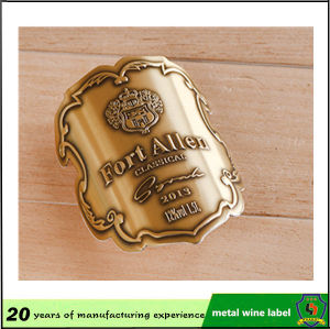 Adhesive Aluminum Labels Sticker pictures & photos