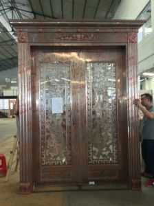 Color Stainless Steel Door (S-3022) pictures & photos