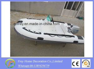 Ce 4.2m Rib Inflatable Fibreglass Sport Boat pictures & photos