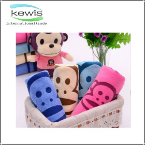 Cartoon Pattern Fashion Style Cotton Face Towel pictures & photos