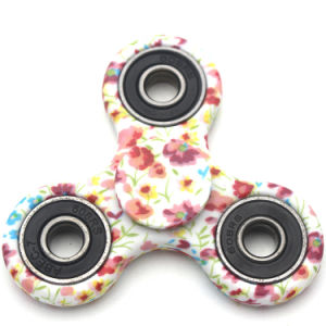 2017 Newest Camouflage Flowers Tri-Spinner Fidget Toy Hand Spinner pictures & photos