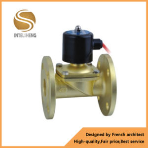 2W Series Water Solenoid Valve Brass Direct Acting Industrial Valve pictures & photos