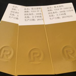 Gold Powder Coating pictures & photos