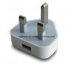 USB Plug UK Travel Plug Wall Charger Adapter pictures & photos